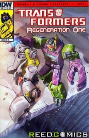 Transformers Regeneration One #90 (Cover A)