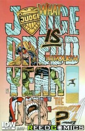 Judge Dredd Year One #2 (1 in 25 Incentive)