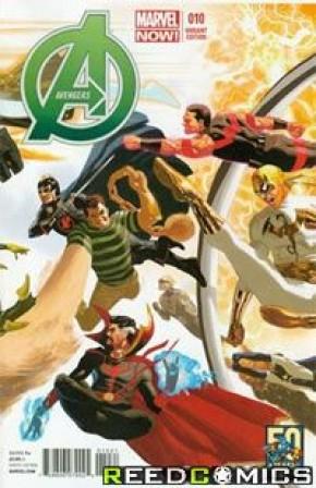 Avengers Volume 5 #10 (50th Anniversary Variant)