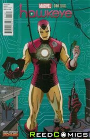 Hawkeye Volume 4 #10 (1 in 20 Incentive)