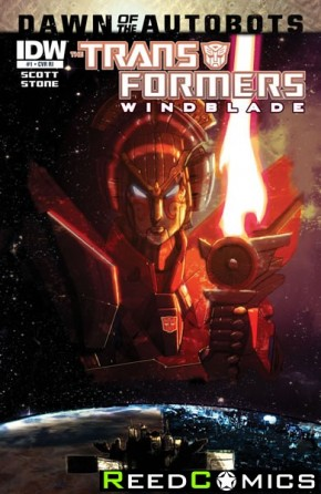 Transformers Windblade #1 (1 in 10 Incentive Variant)