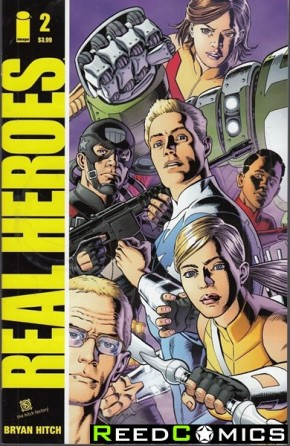 Real Heroes #2 (Cover B)