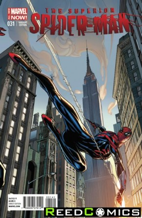 Superior Spiderman #31 (Campbell Connecting A Variant) *Connects Amazing Spiderman #1 B Variant*