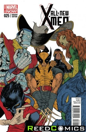 All New X-Men #25 (1 in 25 Incentive Variant Cover)