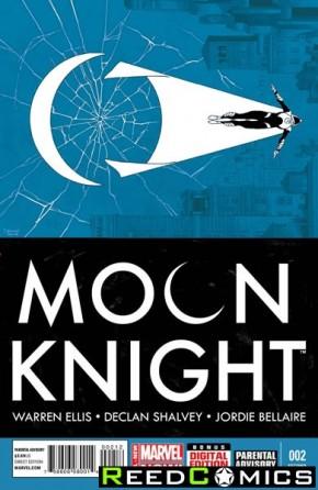 Moon Knight Volume 7 #2 (2nd Print)