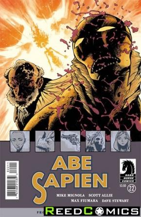 Abe Sapien #22