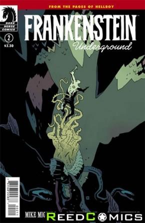 Frankenstein Underground #2 (Crease Damaged)