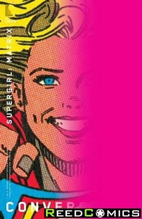 Convergence Supergirl Matrix #1 (Chip Kidd Variant Edition)