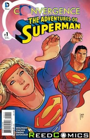 Convergence Adventures of Superman #1