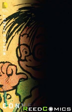 Convergence Worlds Finest Comics #1 (Chip Kidd Variant Edition)