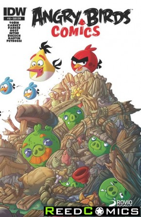 Angry Birds #10 (Subscription Variant Cover)