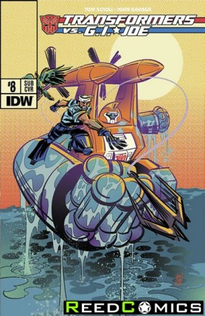 Transformers vs GI Joe #8 (Subscription Variant Cover)