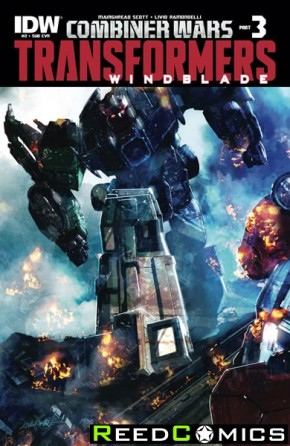 Transformers Windblade Combiner Wars #2 (Subscription Variant Cover)