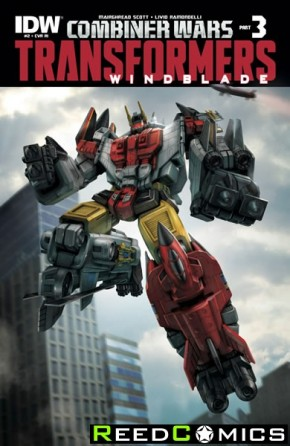 Transformers Windblade Combiner Wars #2 (1 in 10 Incentive Variant Cover)