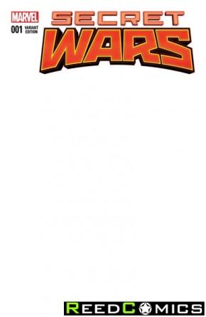 Secret Wars #1 (Blank Cover)