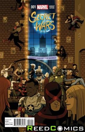 Secret Wars #1 (Zdarsky Party Variant Cover)