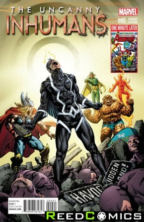 Uncanny Inhumans #0 (1 in 15 Incentive Variant Cover)