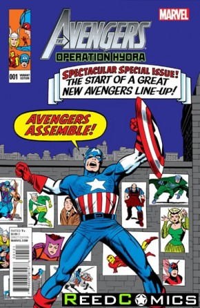 Avengers Operation Hydra #1 One Shot (Kirby Classic Variant Cover)
