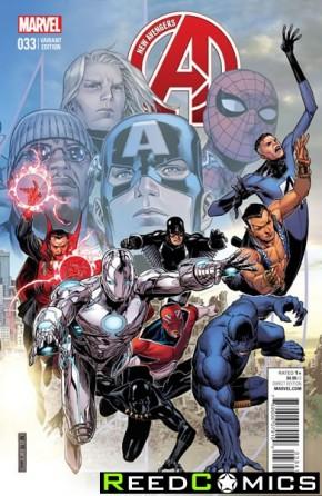 New Avengers Volume 3 #33 (Variant Edition)