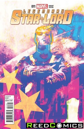 Legendary Star Lord #11 (1 in 20 Incentive Variant Cover)