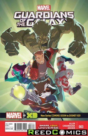 Guardians of the Galaxy Volume 3 #26