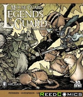 Mouse Guard Legend of the Guard Volume 3 #2