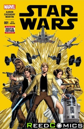 Star Wars Volume 4 #1 (5th Print)