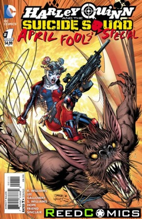 Harley Quinn and Suicide Squad April Fools Special #1