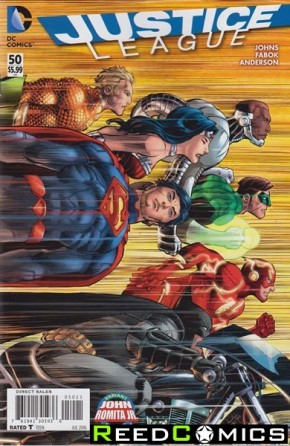 Justice League Volume 2 #50 (Romita Variant Cover Edition)