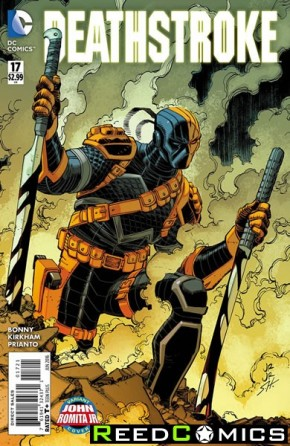 Deathstroke Volume 3 #17 (Romita Variant Cover)
