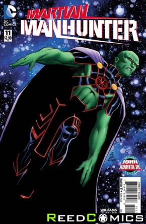 Martian Manhunter Volume 4 #11 (Romita Variant Cover)