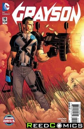 Grayson #19 (Romita Variant Cover)