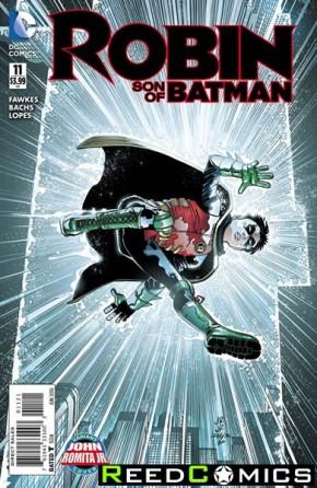 Robin Son of Batman #11 (Romita Variant Cover)