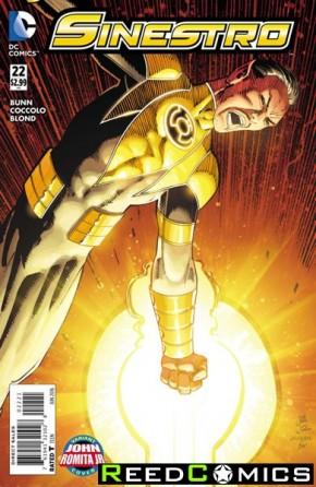 Sinestro #22 (Romita Variant Cover)