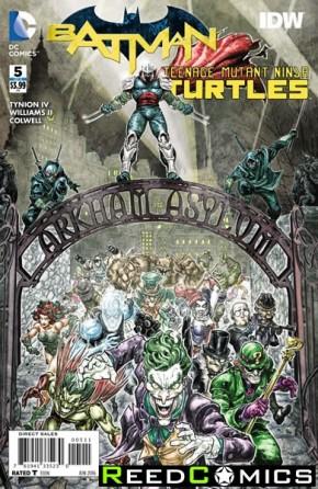 Batman Teenage Mutant Ninja Turtles #5