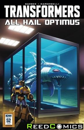 Transformers #52 (Art Appreciation Variant Cover)