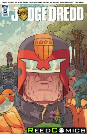 Judge Dredd Ongoing #5