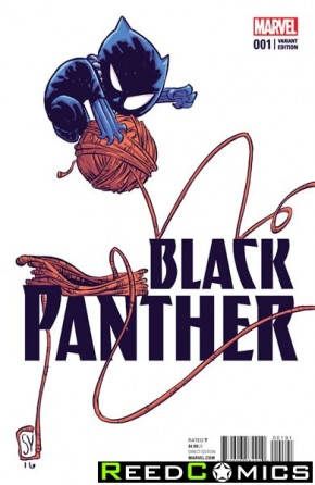 Black Panther Volume 6 #1 (Skottie Young Baby Variant Cover)