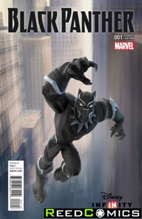 Black Panther Volume 6 #1 (1 in 10 Disney Infinity Game Incentive Variant Cover)