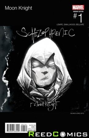 Moon Knight Volume 8 #1 (Ortiz Hip Hop Variant Cover)