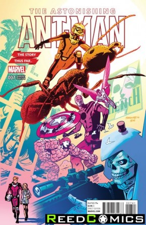 Astonishing Ant Man #7 (Samnee Story Thus Far Variant Cover)