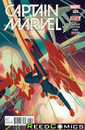 Captain Marvel Volume 8 #4