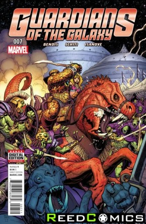 Guardians of the Galaxy Volume 4 #7