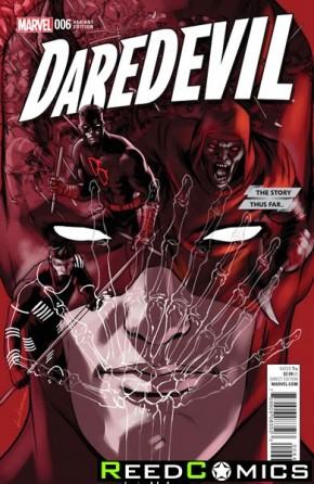 Daredevil Volume 5 #6 (Lopez Story Thus Far Variant Cover)
