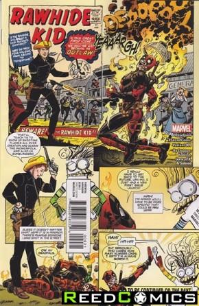 Deadpool Volume 5 #9 (Koblish Secret Comic Variant Cover)