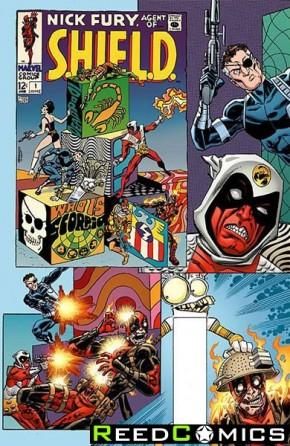 Deadpool Volume 5 #10 (Koblish Secret Comic Variant Cover)