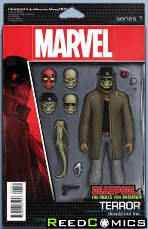 Deadpool Mercs for Money #3 (Action Figure Variant Cover)