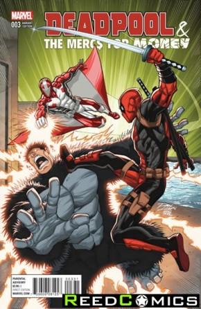 Deadpool Mercs for Money #3 (Lim Variant Cover)