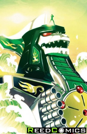 Mighty Morphin Power Rangers #2 (1 in 25 Incentive Variant Cover)