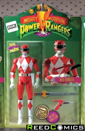 Mighty Morphin Power Rangers #2 (Action Figure Variant Cover)
